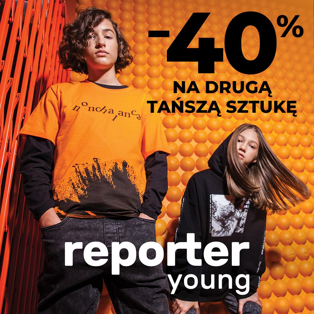 Rabat -40% na drugą, tańszą rzecz!