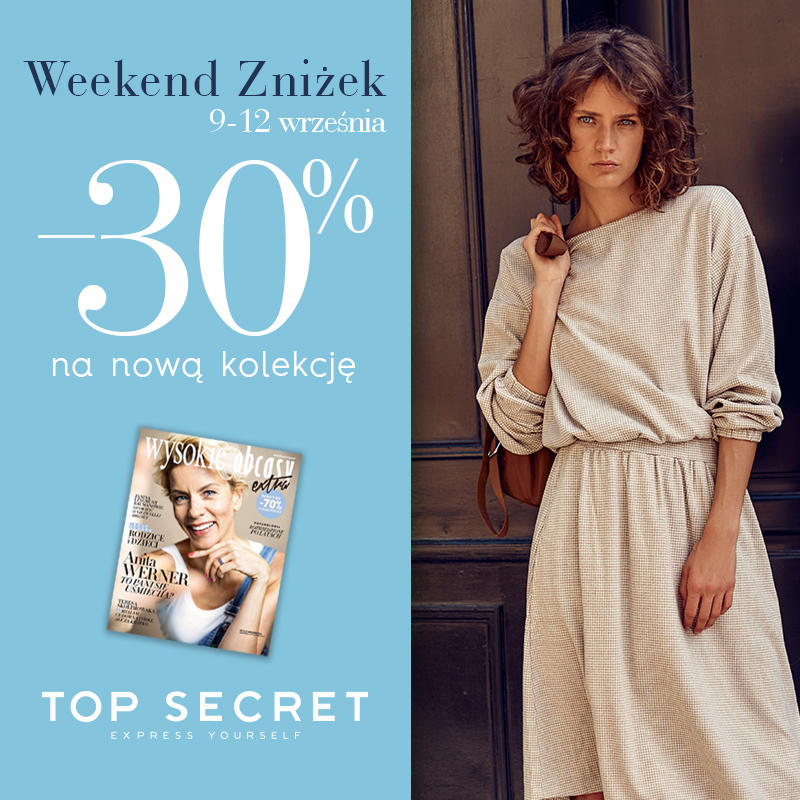 Weekendu Zniżek w Top Secret!
