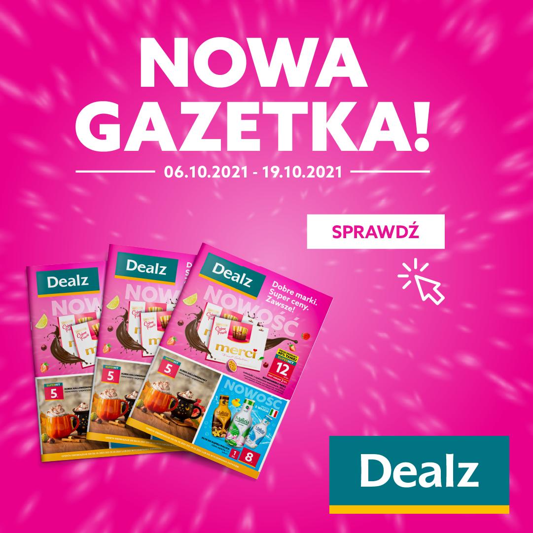 Nowa Gazetka Dealz! 06.10.2021 – 19.10.2021