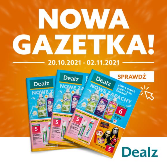 Nowa Gazetka DEALZ! 20.10.2021 – 02.11.2021