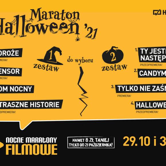 29.10 i 31.10 – NOCNE MARATONY FILMOWE – MARATON HALLOWEEN