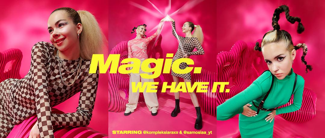 Kampania marki Cropp pod hasłem: Magic. We have it.